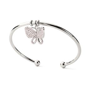 Wonderfly Silver 925 Bangle Bracelet-