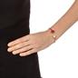 Heart4Heart Chroma Silver 925 Rose Gold Flash Plated Σταθερό Βραχιόλι-