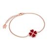Heart4Heart Chroma Silver 925 Rose Gold Flash Plated Bracelet