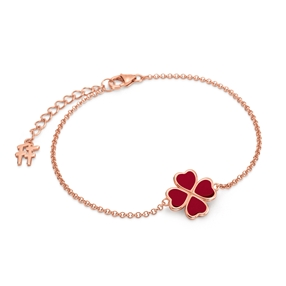 Heart4Heart Chroma Silver 925 Rose Gold Flash Plated Bracelet-