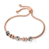 Love Memo Rose Gold Plated Adjustable Bracelet