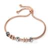 Love Memo Rose Gold Plated Adjustable Bracelet