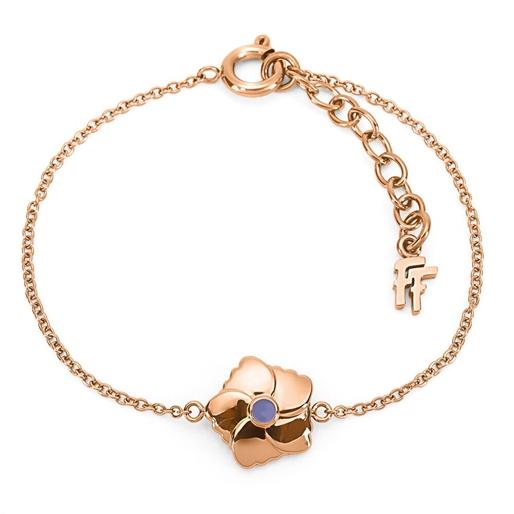 Bloom Bliss Rose Gold Plated Bracelet-