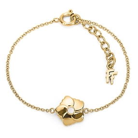 Bloom Bliss Yellow Gold Plated Βραχιόλι-