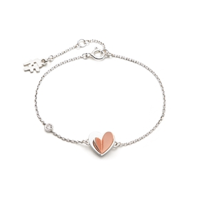 Love To Love Silver 925 Βραχιόλι-