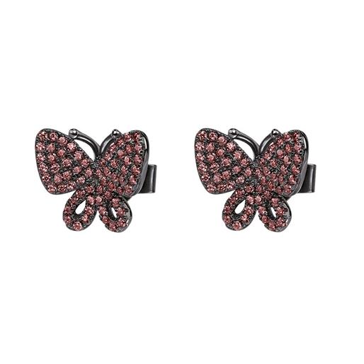 Wonderfly Black Flash Plated Short Earrings-