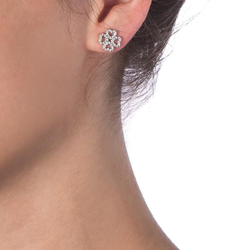 Miss Heart4Heart Adjustable Silver 925 Earrings-