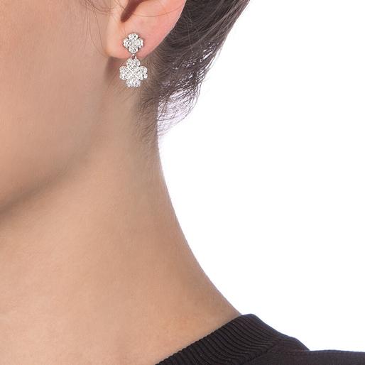 Heart4Heart Silver 925 Short Earrings-