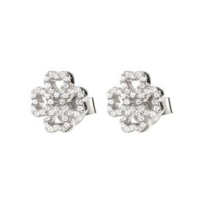 Miss Heart4Heart Silver 925 Stud Earrings-