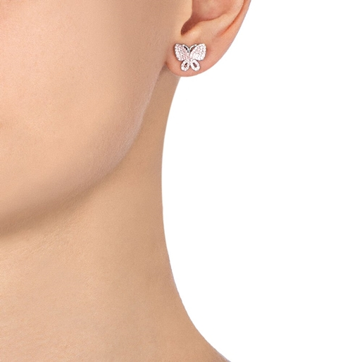 Wonderfly Silver 925 Stud Earrings-