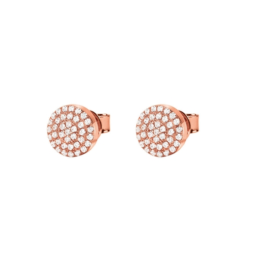 Heart4Heart Mati Rose Gold Plated Short Earrings -