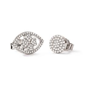 Heart4Heart Mati Silver 925 Stud Earrings-