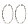 The Essentials Silver 925 Large Hoop Earrings