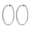 The Essentials Silver 925 Large Hoop Earrings