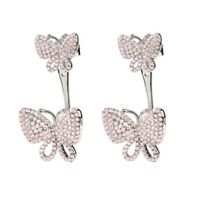 Wonderfly Silver 925 Short Earrings-