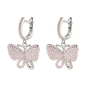 Wonderfly Silver 925 Short Earrings-