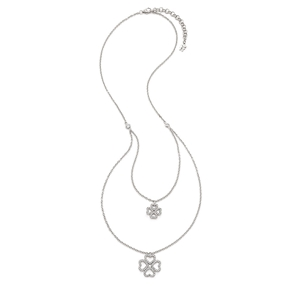 Miss Heart4Heart Silver 925 Short Necklace-