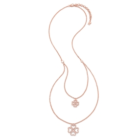 Miss Heart4Heart Rose Gold Plated Short Necklace-