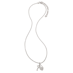 Charm Mates Silver 925 Short Necklace-