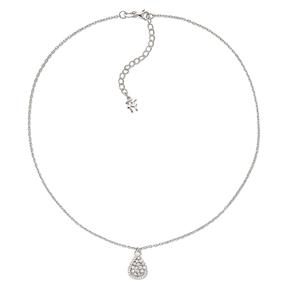 Sparkle Chic Silver 925 Κοντό Κολιέ-
