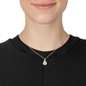 Sparkle Chic Silver 925 Short Necklace  -