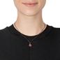 Sparkle Chic Black Flash Plated Short Necklace -