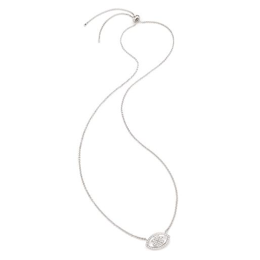 Heart4Heart Mati Silver 925 Ρυθμιζόμενο Κολιέ-