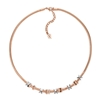 Love Memo Rose Gold Plated Short Necklace