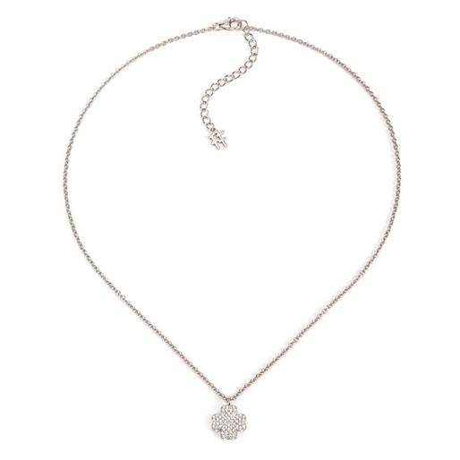 Heart4Heart Silver 925 Rose Gold Plated Κοντό Κολιέ-