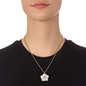 Bloom Bliss Yellow Gold Plated Long Necklace-