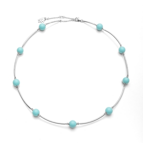 Close To Sun Silver 925 Short Necklace-