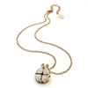 Heart4Heart Rose Gold Plated Short Necklace