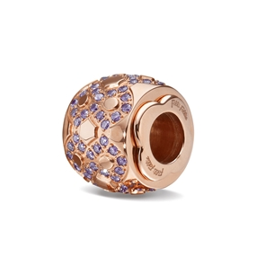 Playful Emotions Rose Gold Plated Passion Pendant-