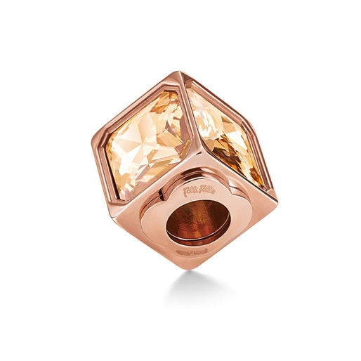 Playful Emotions Rose Gold Plated  Confidence Pendant-
