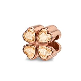 Playful Emotions Rose Gold Plated  Desire Pendant-