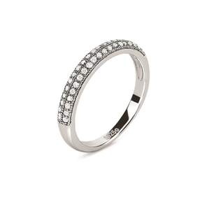 Fashionably Silver Essentials Silver 925 Band Ring-