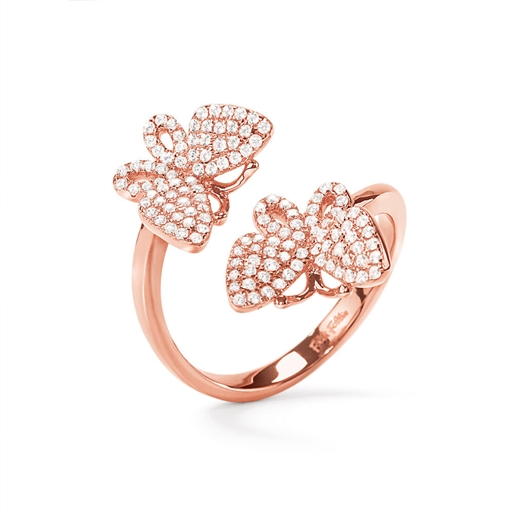 Wonderfly Rose Gold Plated Ring-