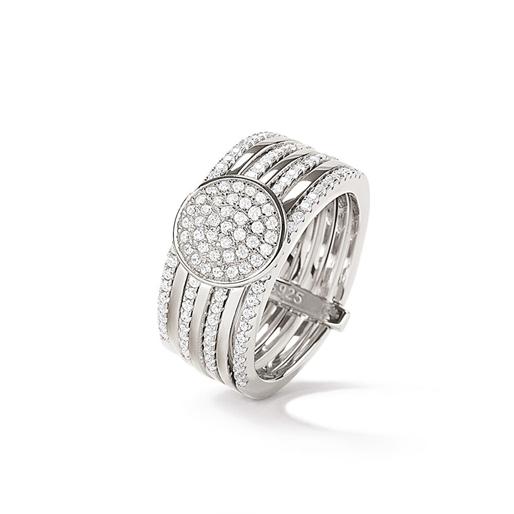 Cyclos Silver 925 Wide Ring-