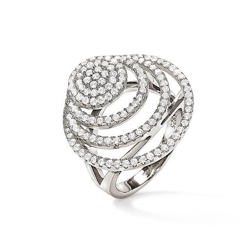 Cyclos Silver 925 Large Ring-