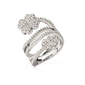 Heart4Heart Silver 925 Δαχτυλίδι-