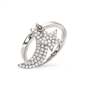 Charm Mates Silver 925 Ring-