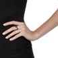 Charm Mates Black Flash Plated Ring-