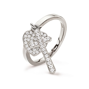 Charm Mates Silver 925 Ring-