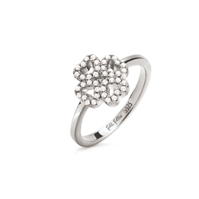 Miss Heart4Heart Silver 925 Chevalier Ring-