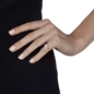 Miss Heart4Heart Rose Gold Plated Chevalier Ring-
