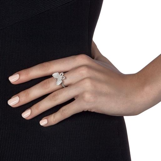 Wonderfly Silver 925 Chevalier Ring-