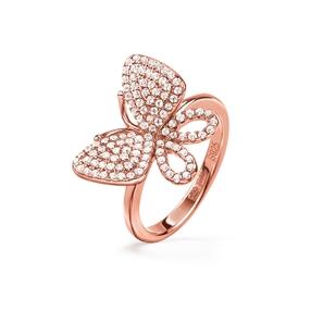 Wonderfly Rose Gold Plated Δαχτυλίδι-