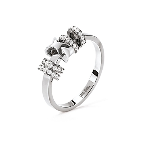 Love Memo Silver Plated Ring-