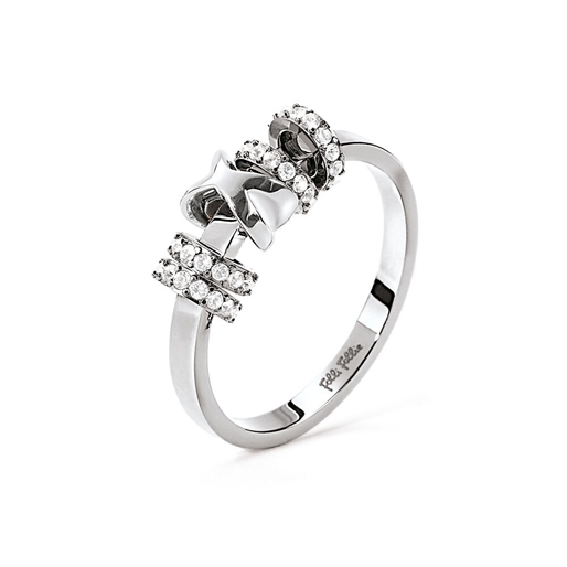 Love Memo Silver Plated Ring -