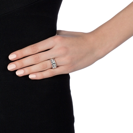 My FF Silver 925 Wide Band Ring-